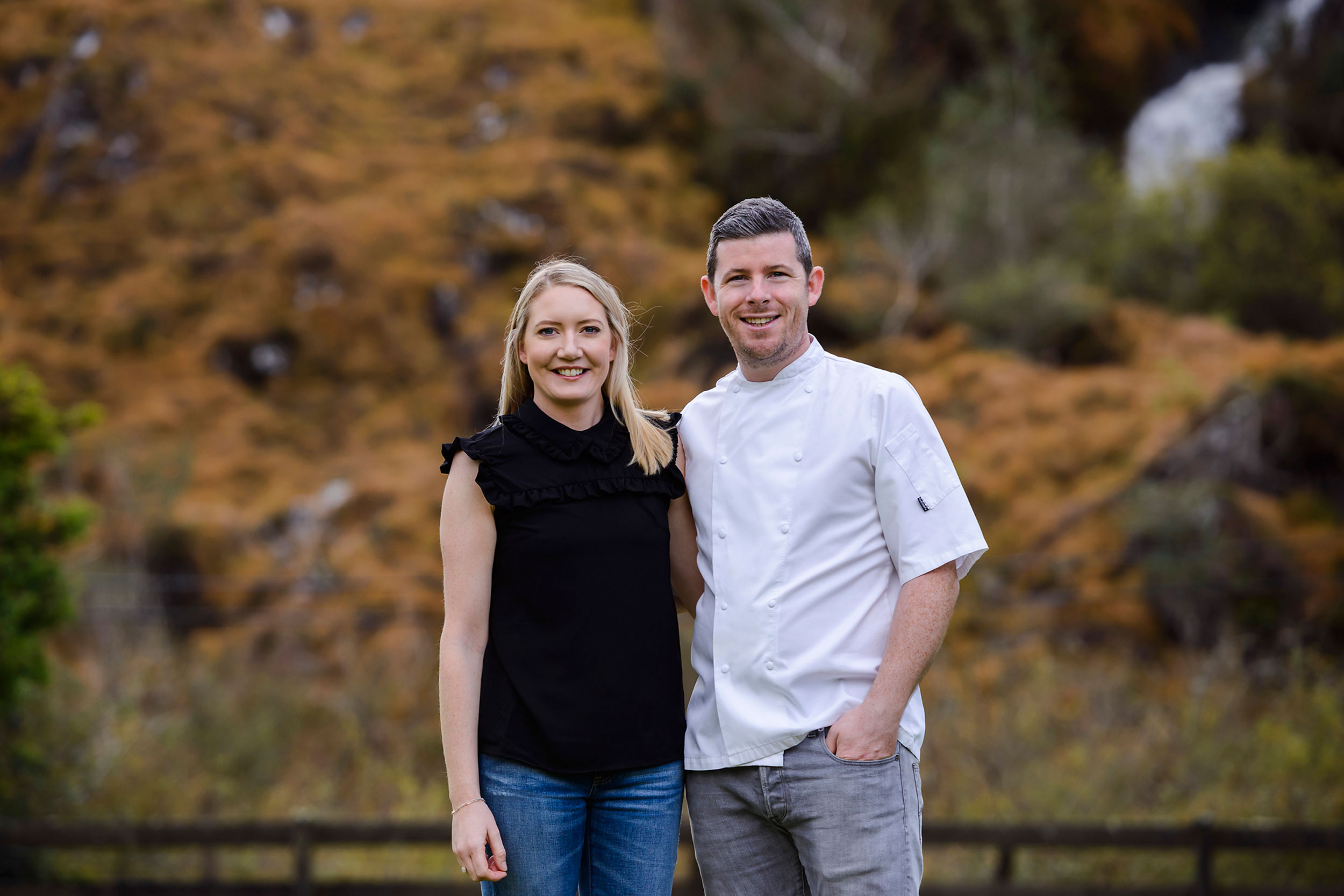 """Collette and Mike Hayes who with  Truffle Honey  have taken their partnership as """"Husband and Wife"""" to a new level."""