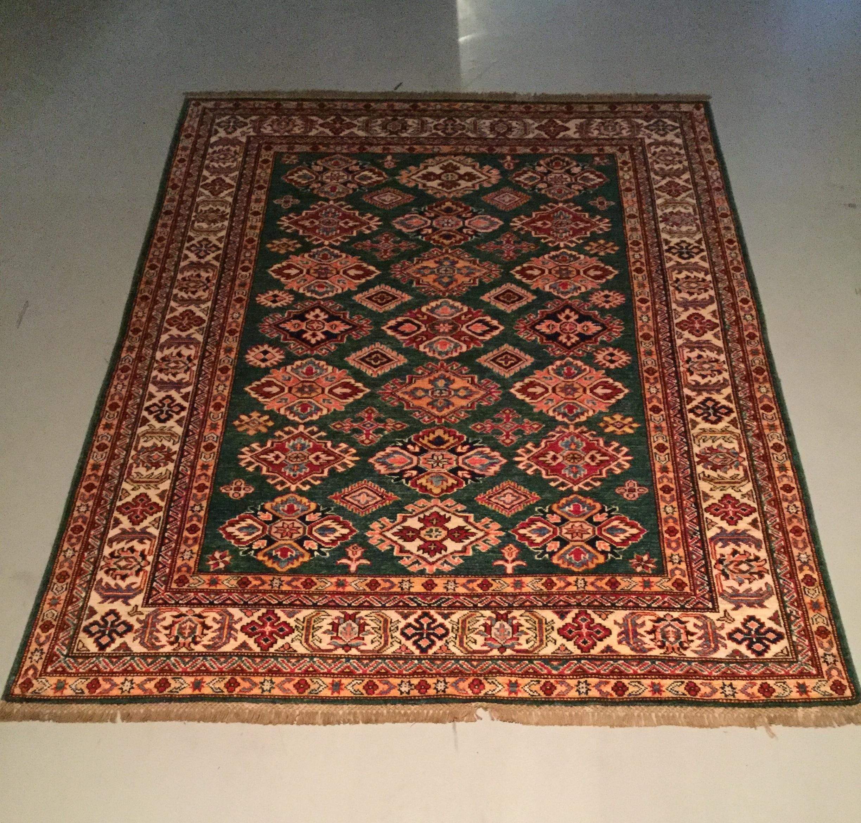Afghan Kazak - Circa 2000's    Size Measurements: 190cm x 150cm