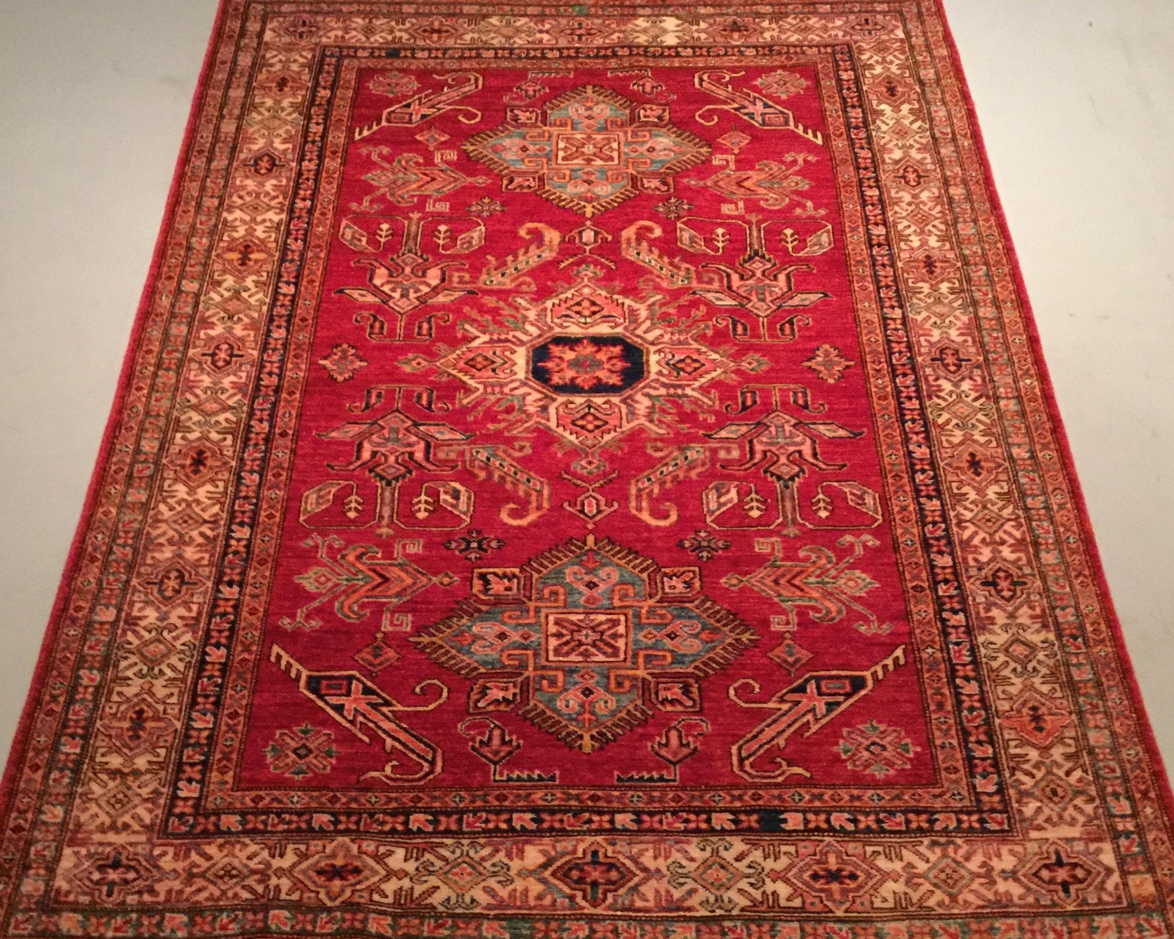 Afghan Kazak - Circa 2000'sSize Measurements: 220cm x 150cm