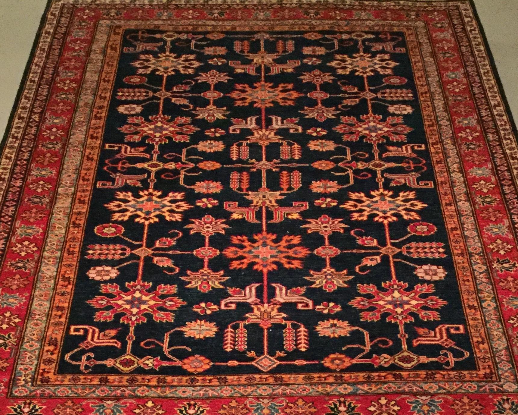 Afghan Kazak - Circa 2000'sSize Measurements: 233cm x 179cm