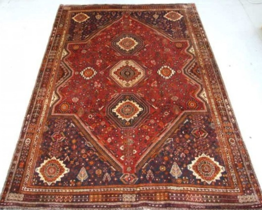 Iranian Qashqai - Circa Late 1900'sCountry of Origin: IranSize Measurements: 312cm x 222cm