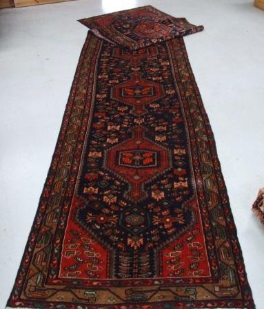 Traditional Tajabad Runner    Size Measurements: 508cm x 104cm