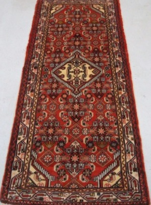 Traditional Tajabad (Runner) - Circa Late 1900'sSize Measurements: 182cm x 80cm