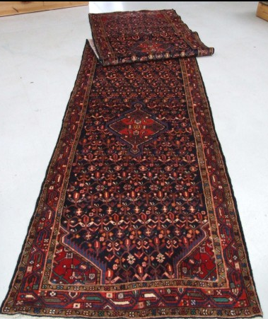 Traditional Tajabad (Runner) - Circa Late 1900'sSize Measurements: 519cm x 110cm