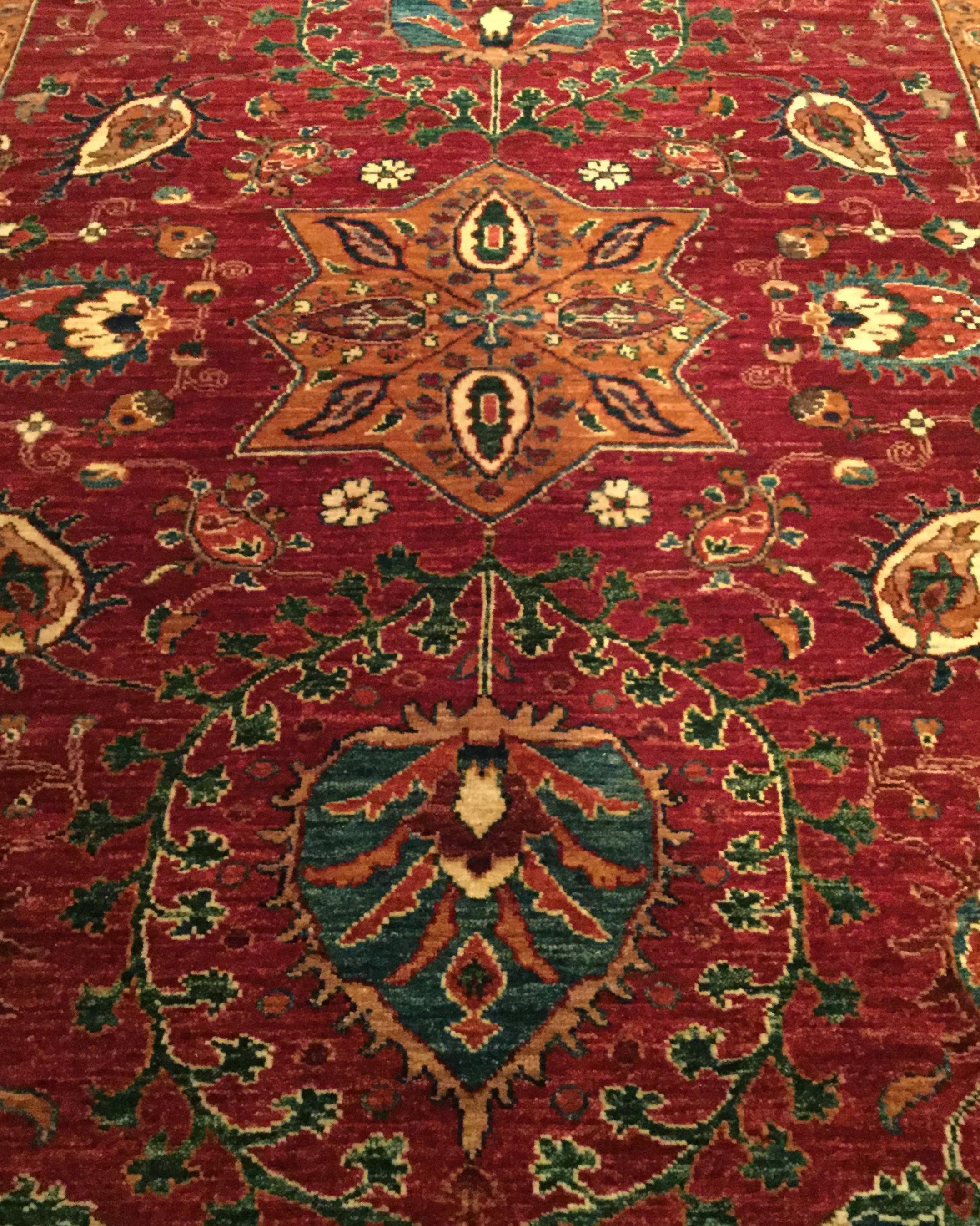 Traditional Afghan Kazak
