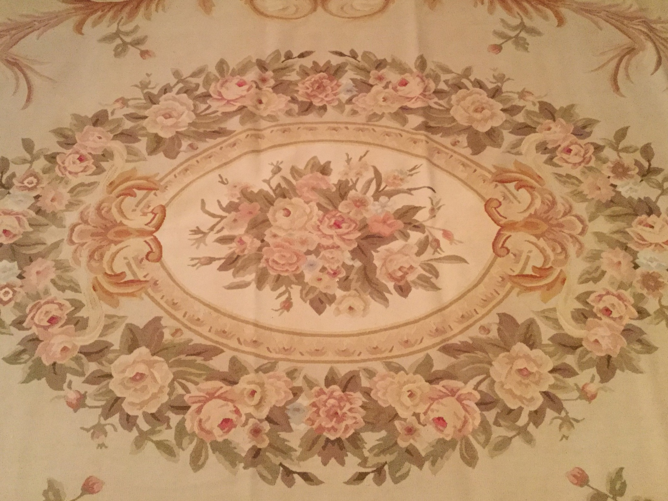 Antique Aubusson - Circa 1900's