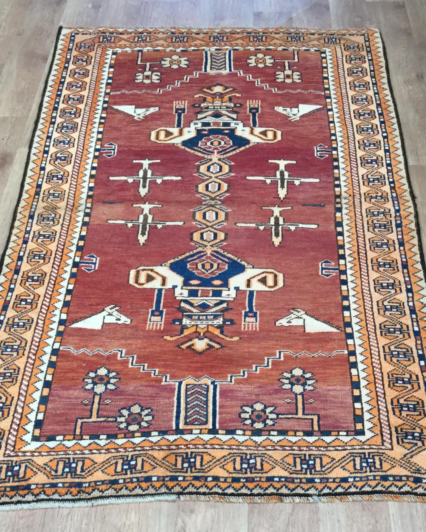Afghan Kazak - Circa 2000'sSize Measurements: 190cm x 113cm
