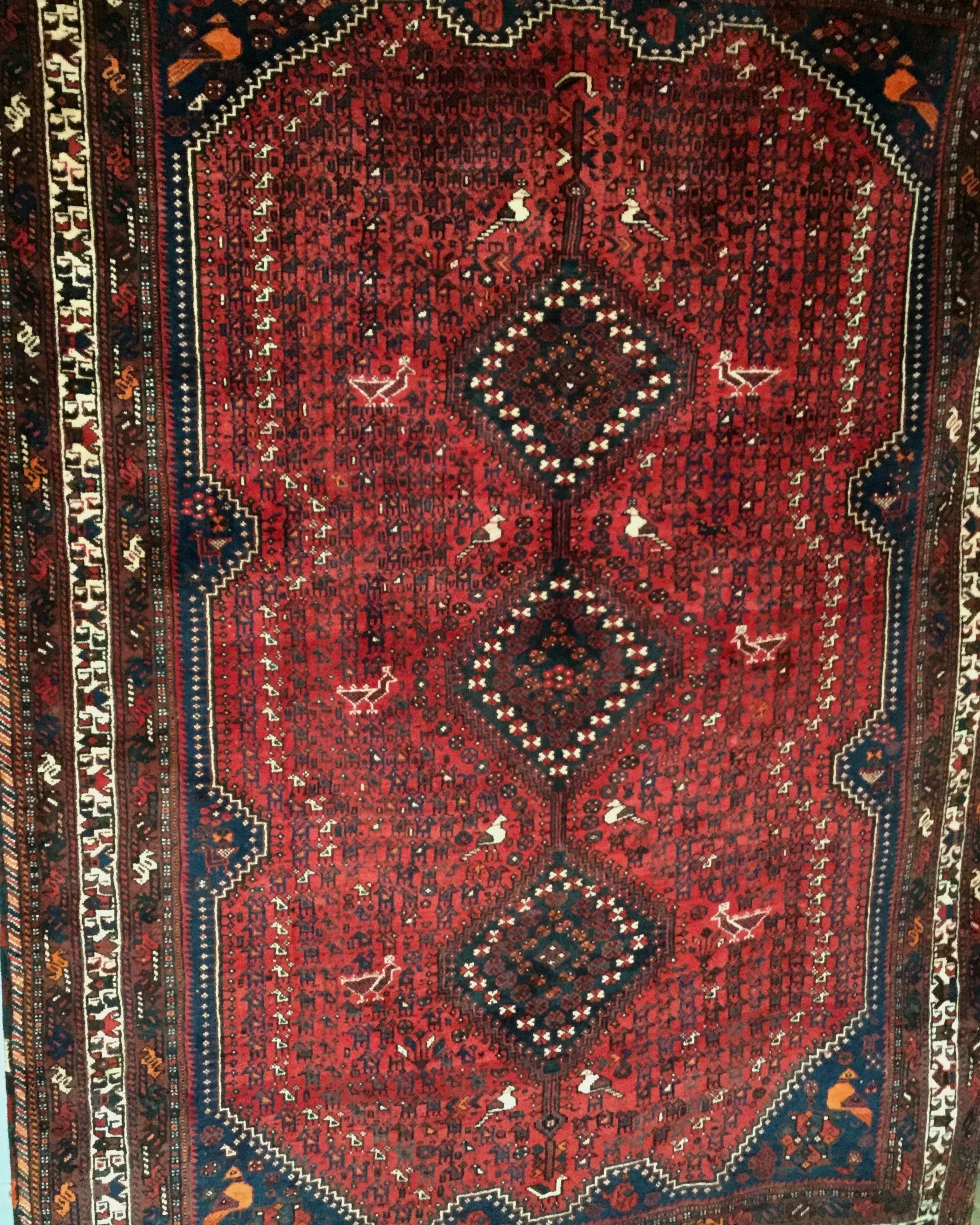 Iranian Qashqai - Circa 2000'sSize Measurements: 290cm x 207cm