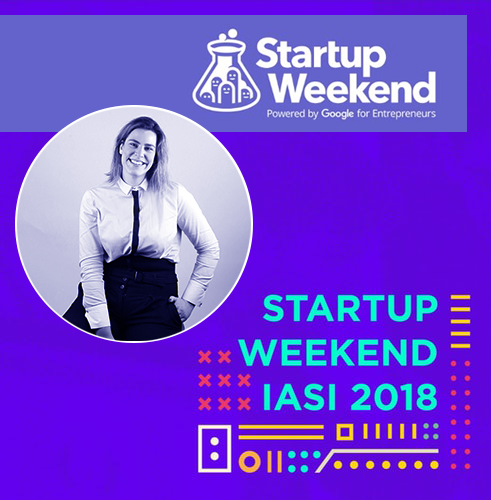 Invited Mentor at Startup Weekend, Iasi, Romania 2018.