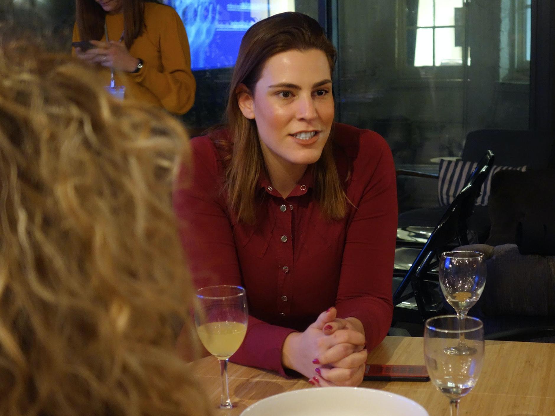 Invited Speaker & Mentor at 'Ladies, Wine & Design' London 2019.
