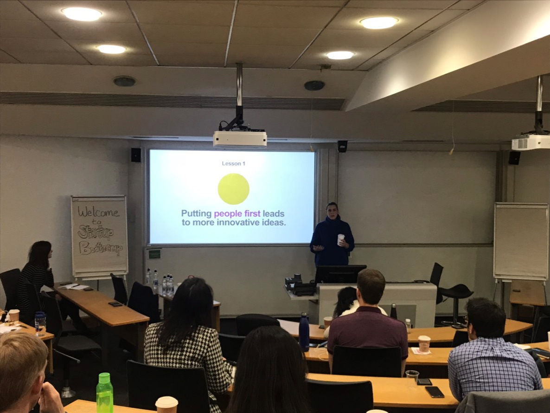 Industry Speaker at London Business School MBA 2019.