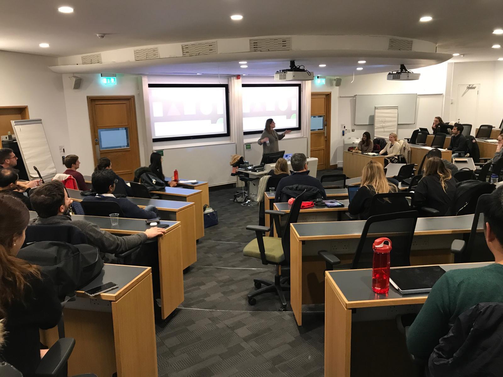 Industry Speaker at London Business School 'Design & Innovation Club' 2019.