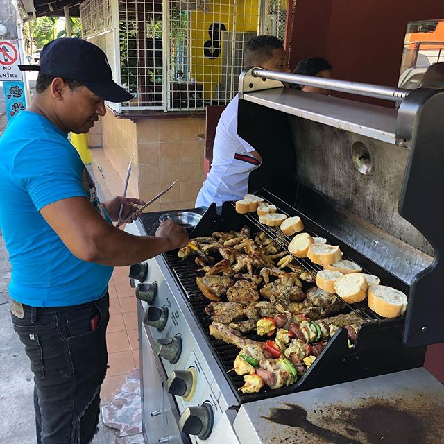 Hungry - this is how we do lunch in the DR #dominicanrepublic #playasosua #sosua #cabarete #iluvDR #sosuaone