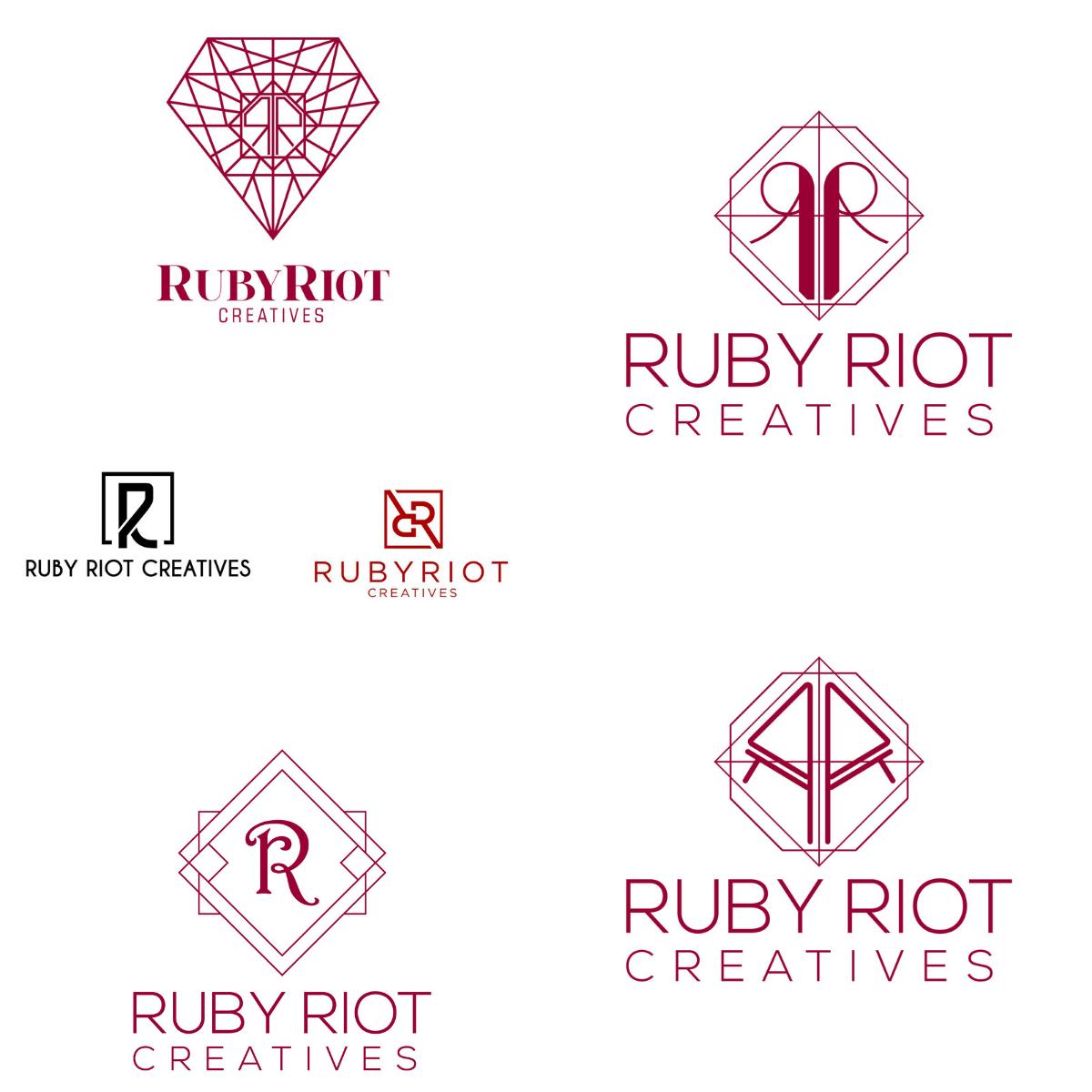 Our logo evolution + brand development.