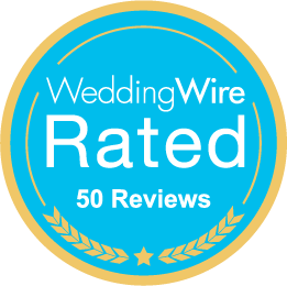 weddingwire 50 five start client reviews charleston wedding videographer.png