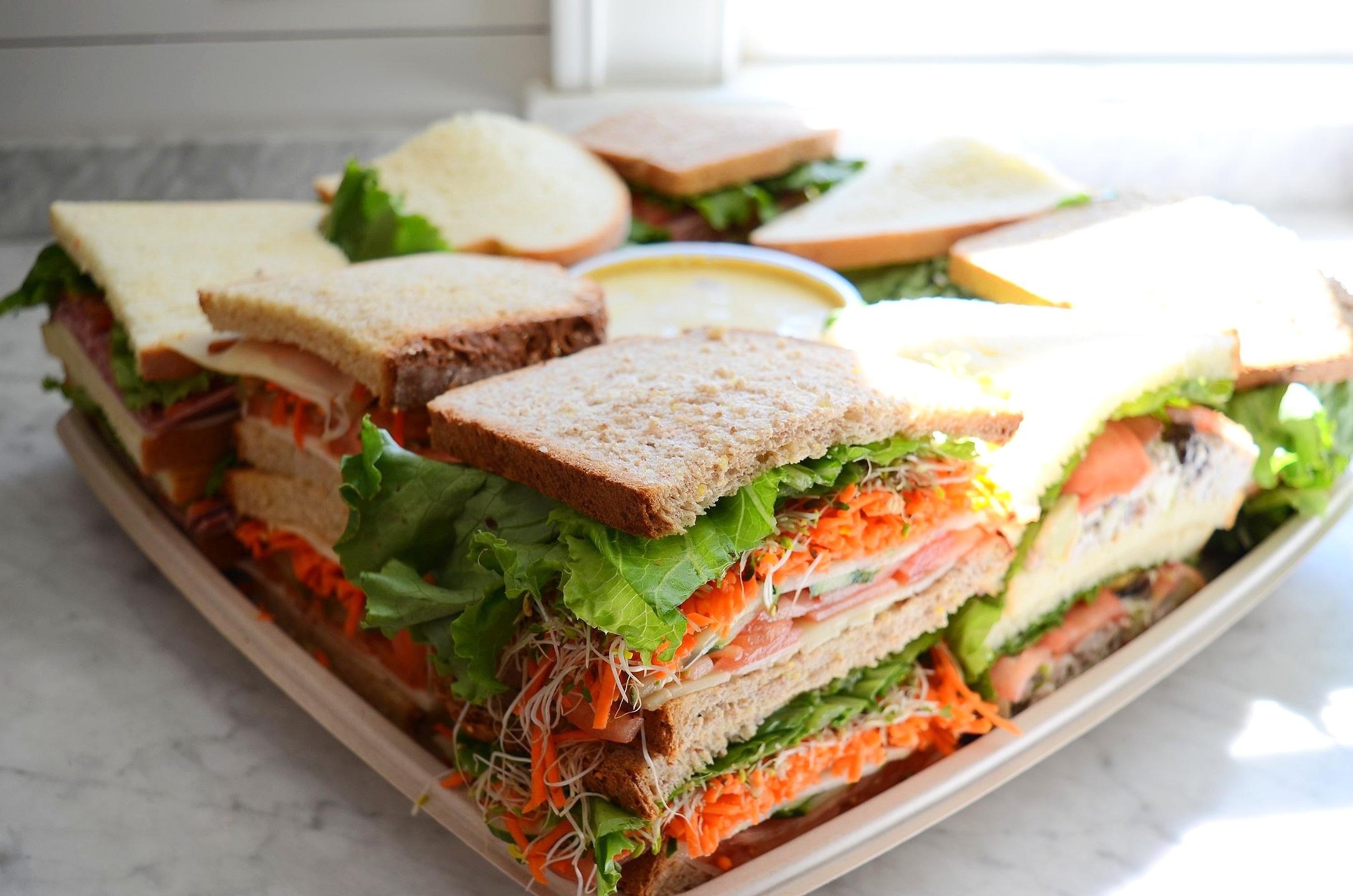 sandwich platter - serves 12-15