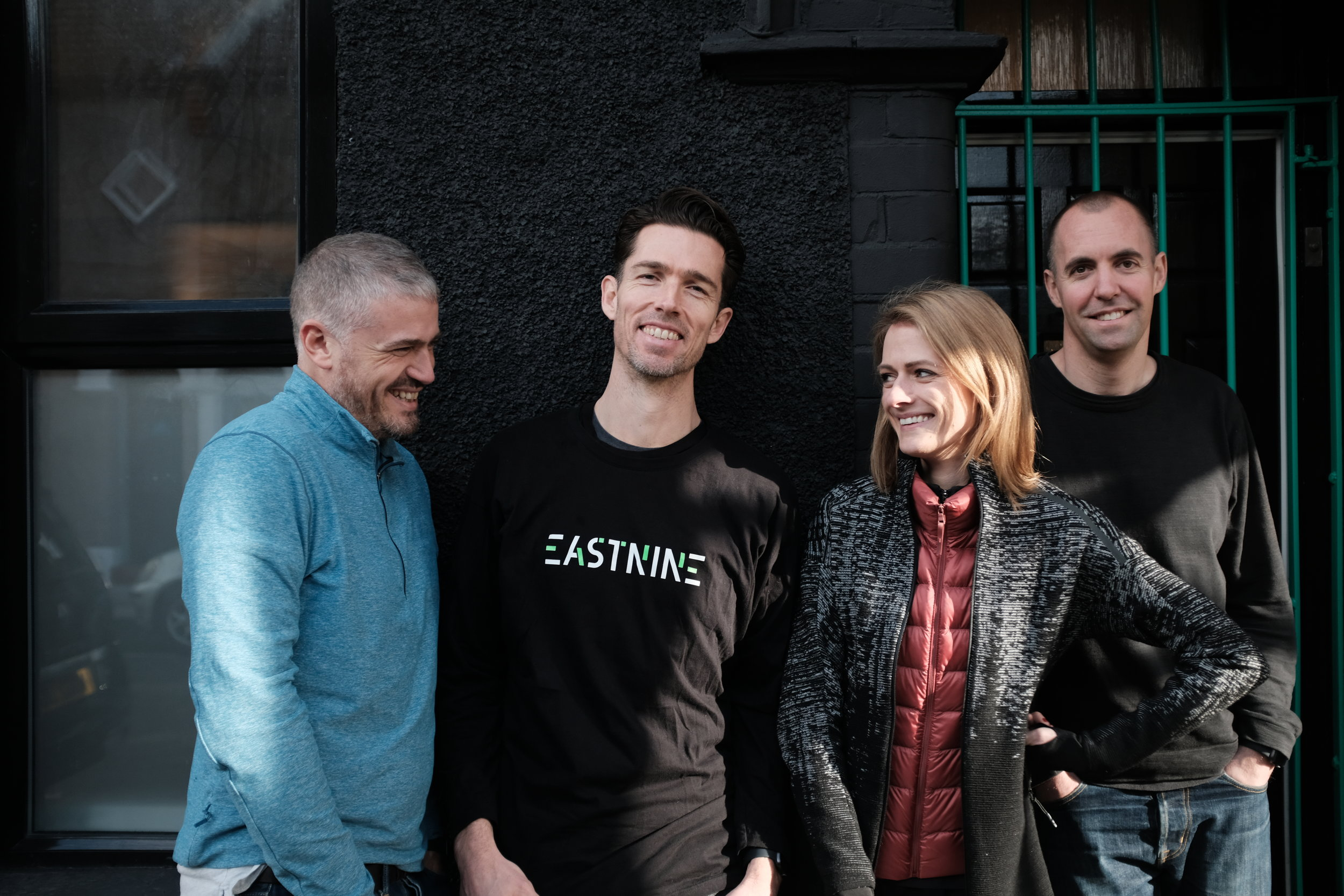 Eastnine co-founders, from left to right: Jason Goodman, David McCreary, Cat Forrest and Matt Harrison.
