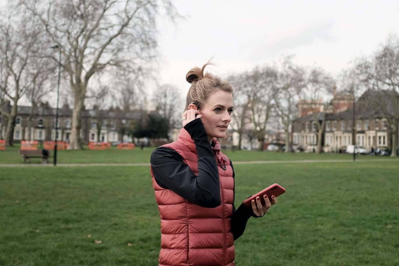 Cat Forrest, former international GB high jumper and Eastnine co-founder.