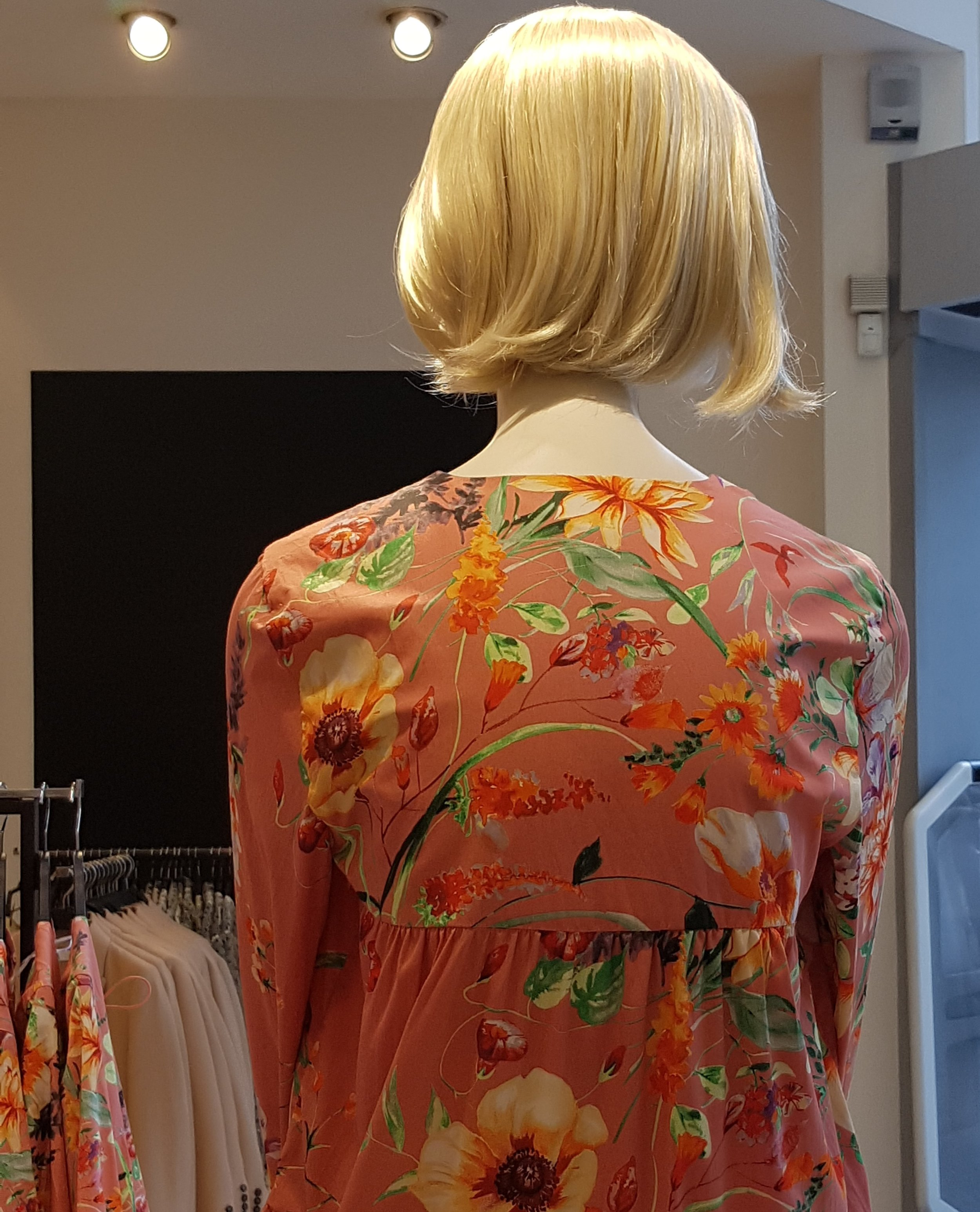 Back view of mannequin in Zara, Oxford Street, London