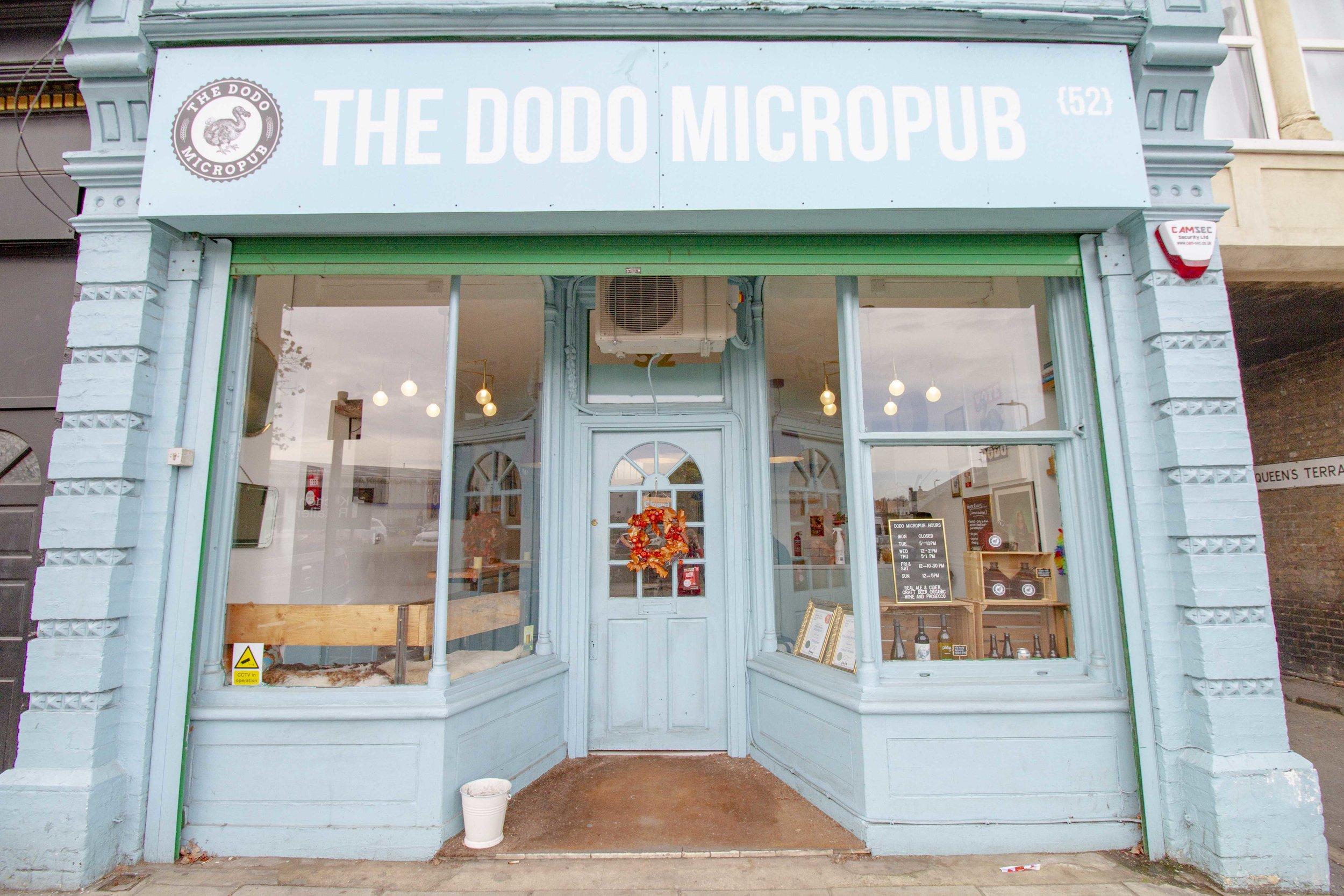 The Dodo Micropub, 52 Boston Road, Hanwell, London. W7 3TR