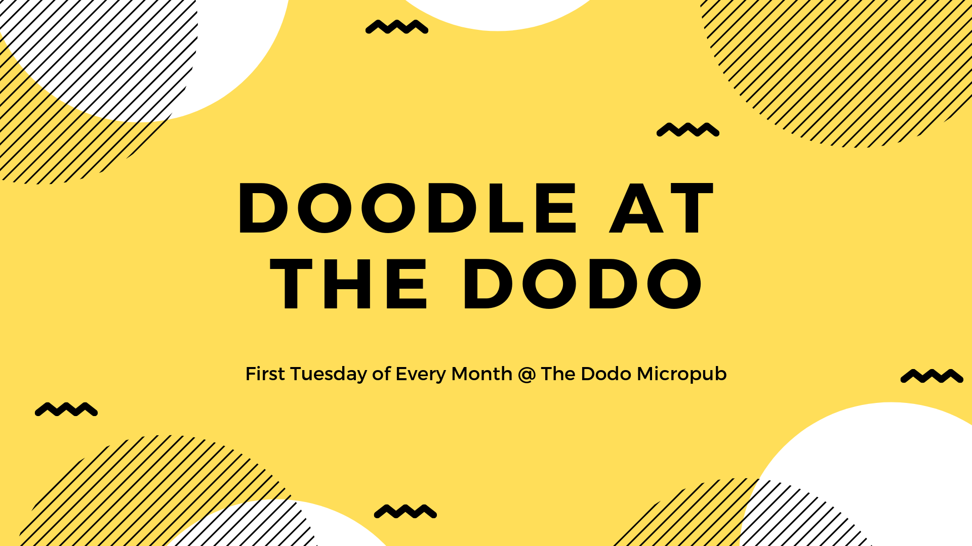 Doodle At The Dodo Micropub