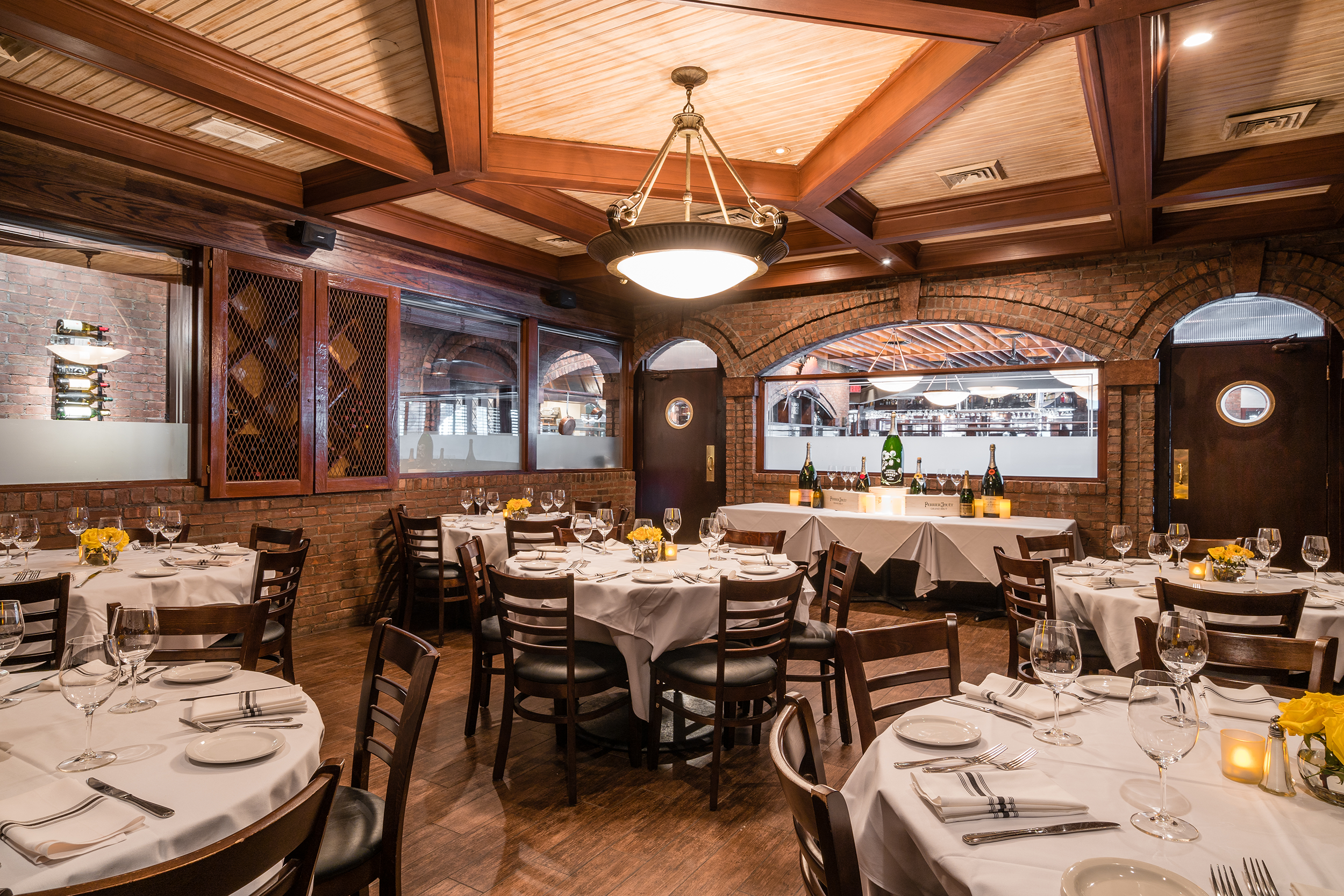 Private Dining at Chamberlain's Fish Market Grill - The Herring Room - seats up to 45