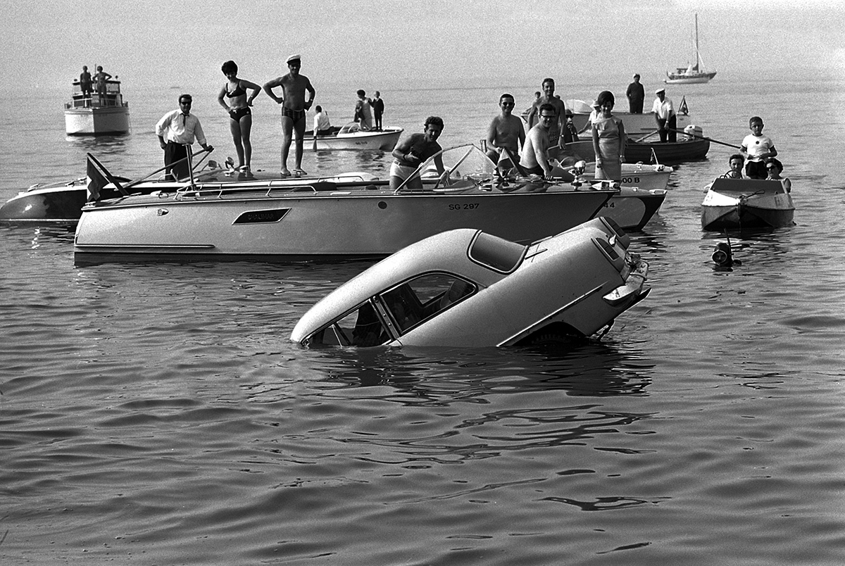 Übung zur Seerettung, Bodensee 1967