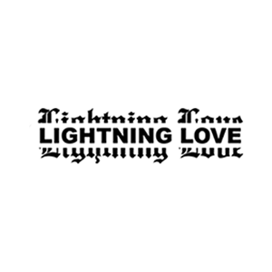 Lightning Love Logo BNW