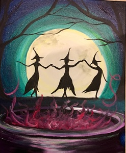 Saturday 12:30-2pm October 5, 2019 Dancing Witches