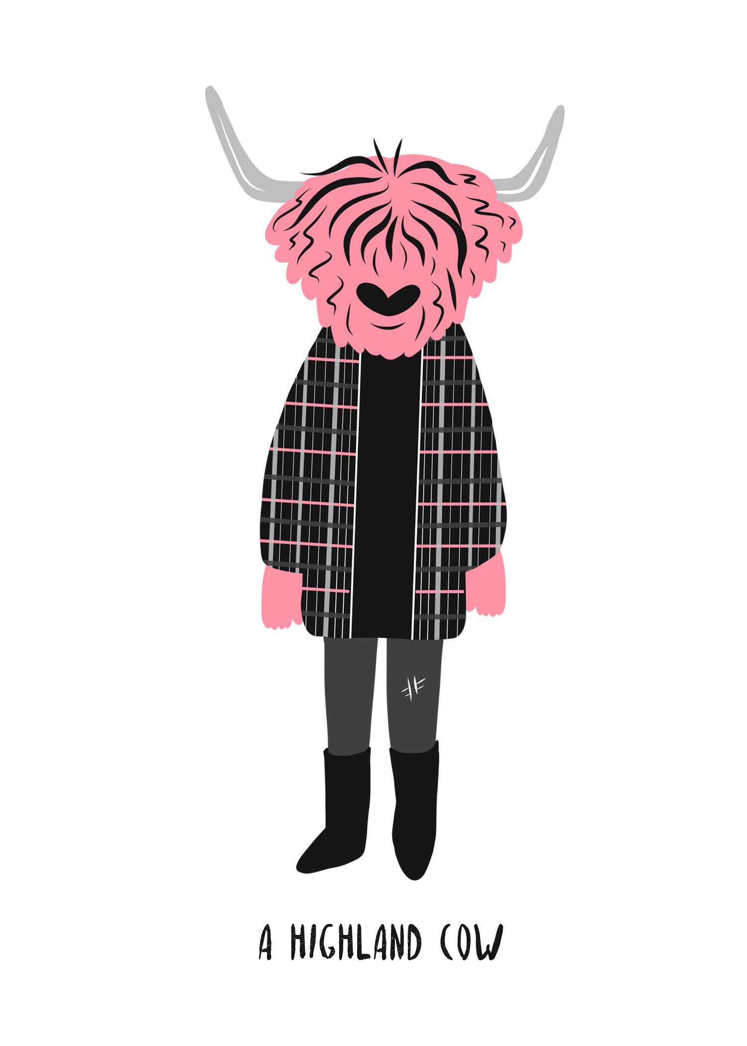 Dress Like a Highland Cow