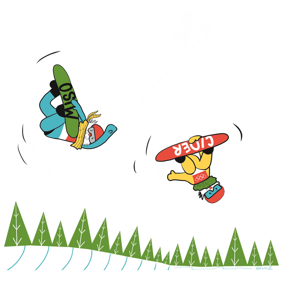 Cider and Miso: Snowboarding