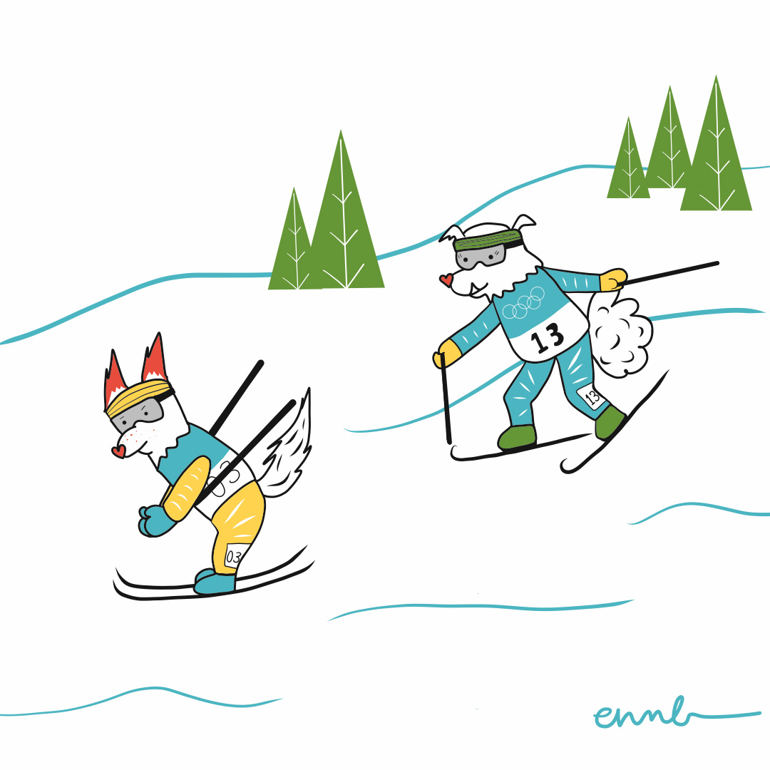 Cider and Miso: Cross-country Skiing
