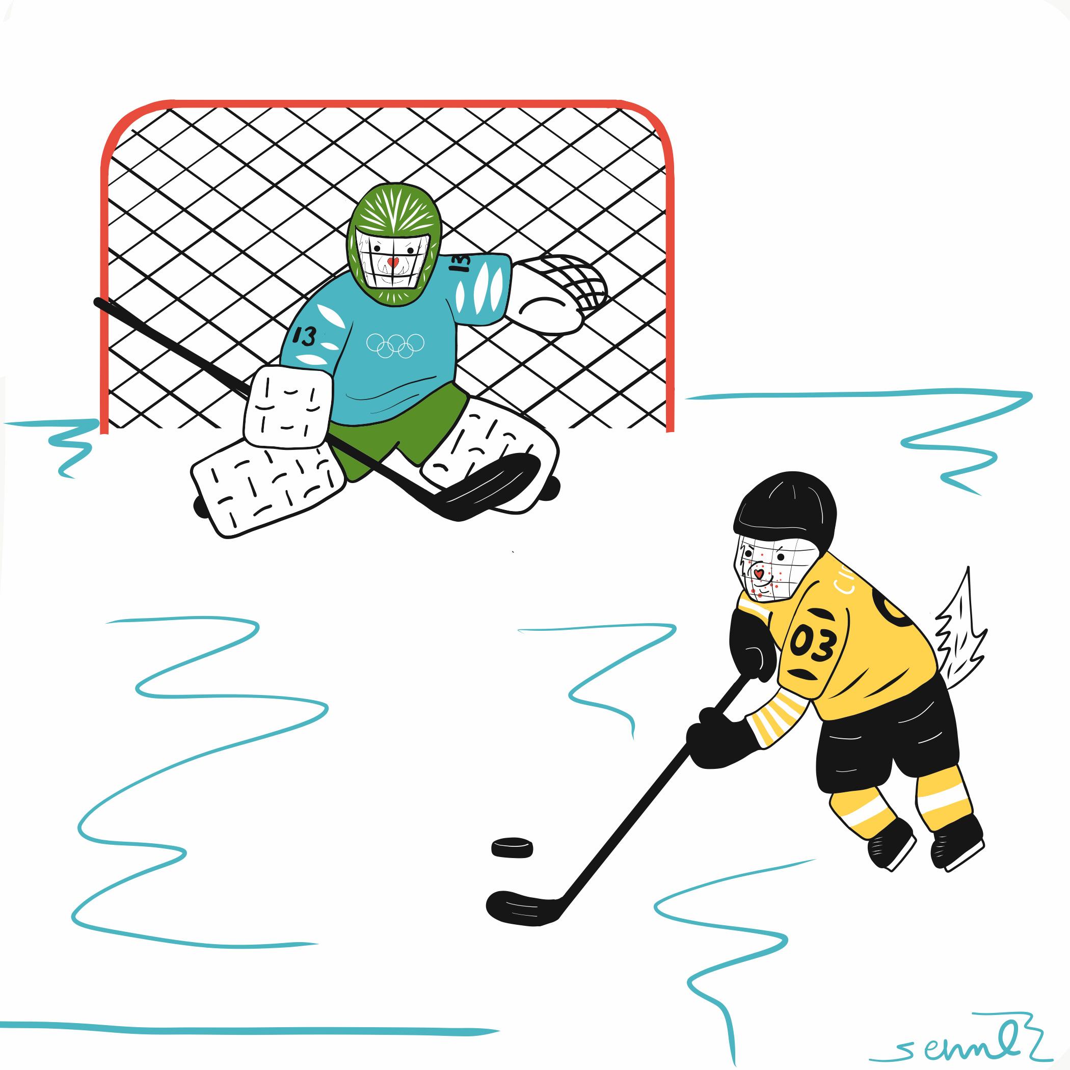 Cider and Miso: Hockey