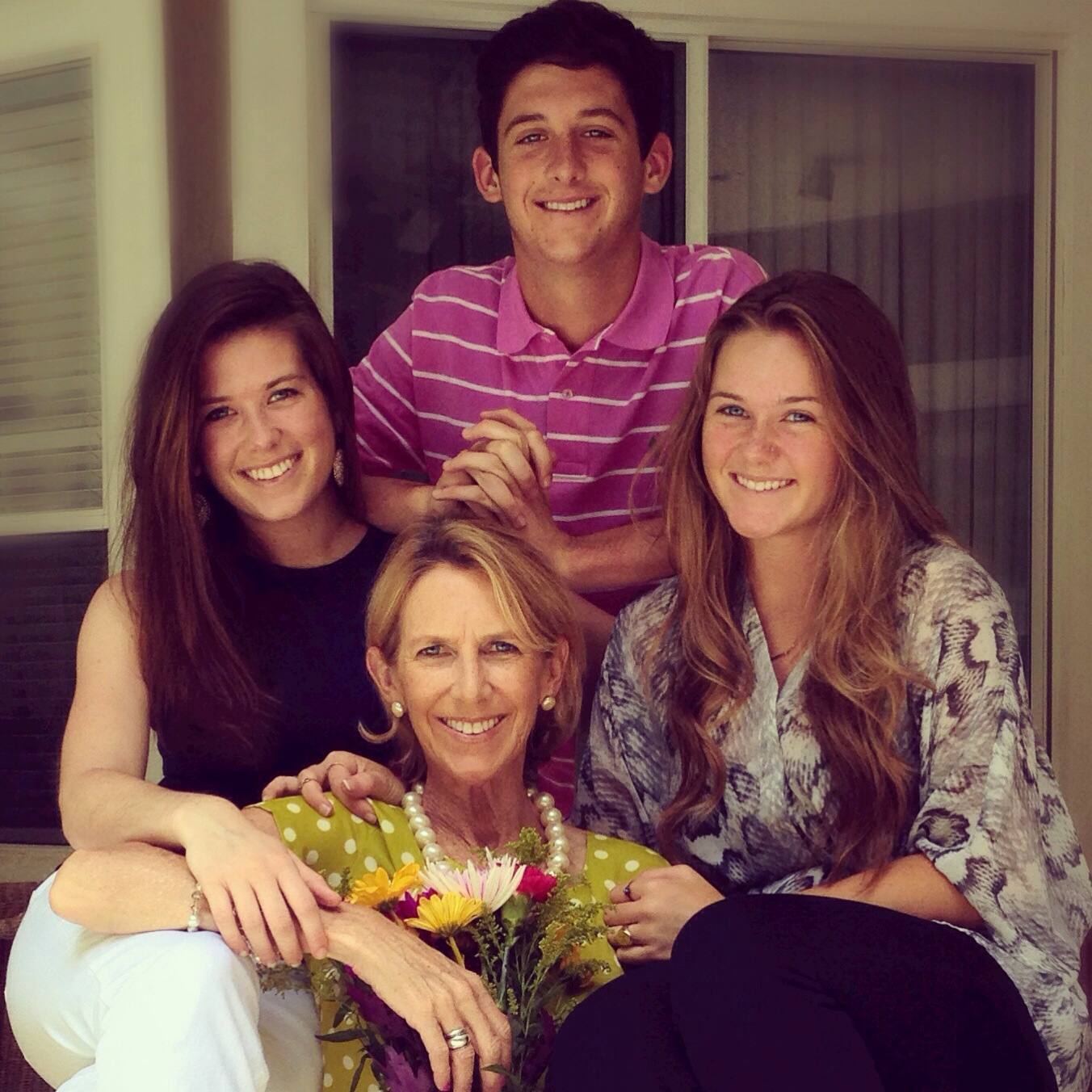 Mother's Day 2014 - Georgia Mae, her mother and siblings.