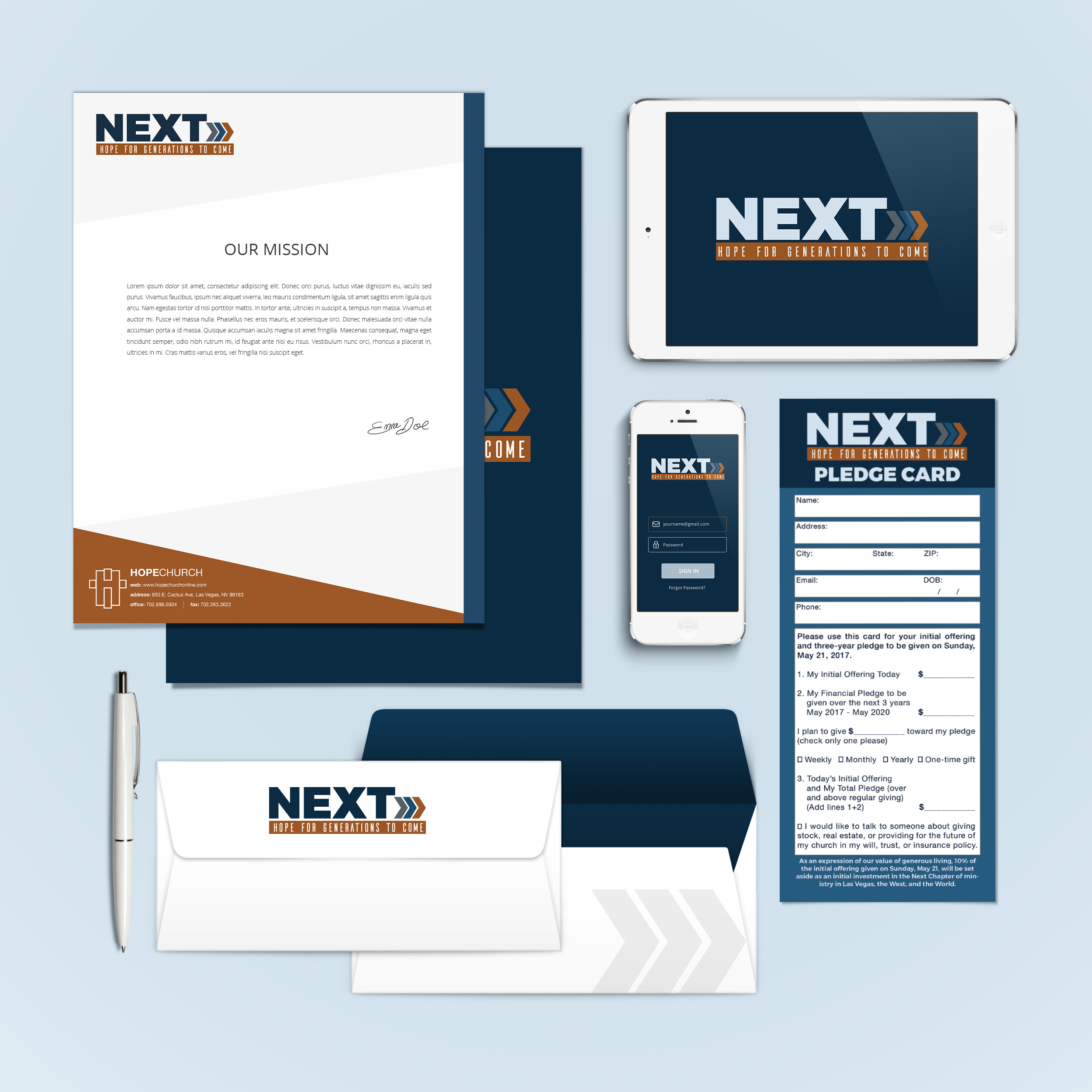 Branding for a capital campaign