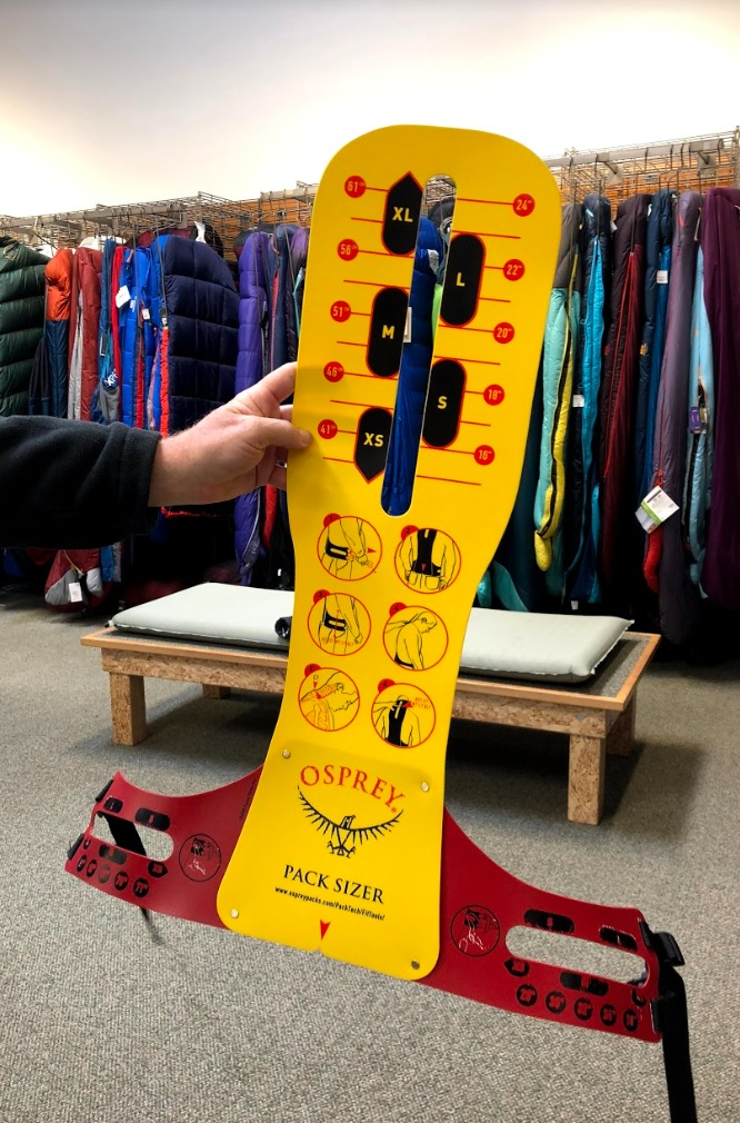 The Backpack Measuring Tool