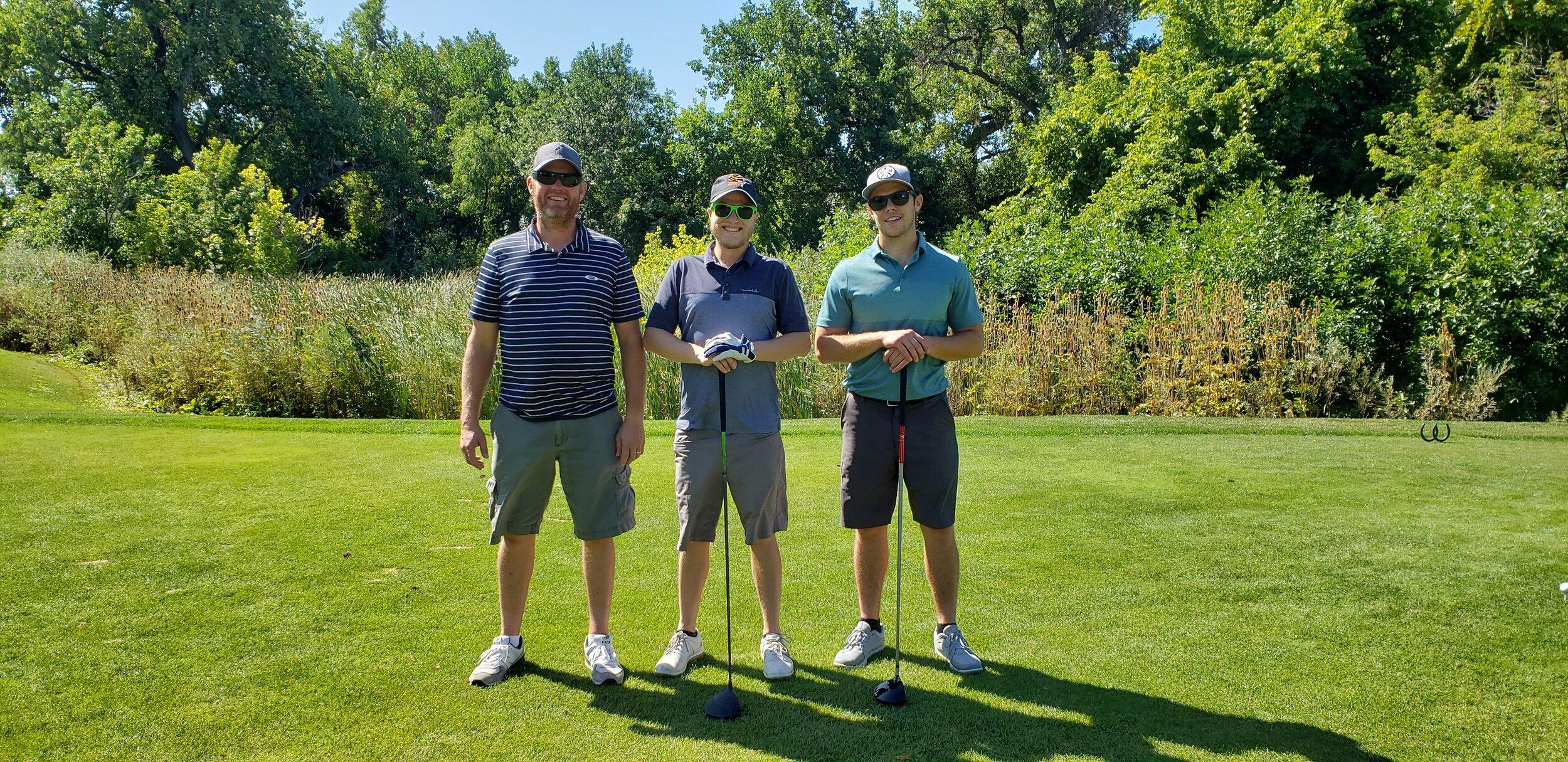 Scott McClain  Adolfson & Peterson Construction,  Kevin Bene  R&R Engineers-Surveyors, Inc.,  Kyle Donahue  Haselden Construction