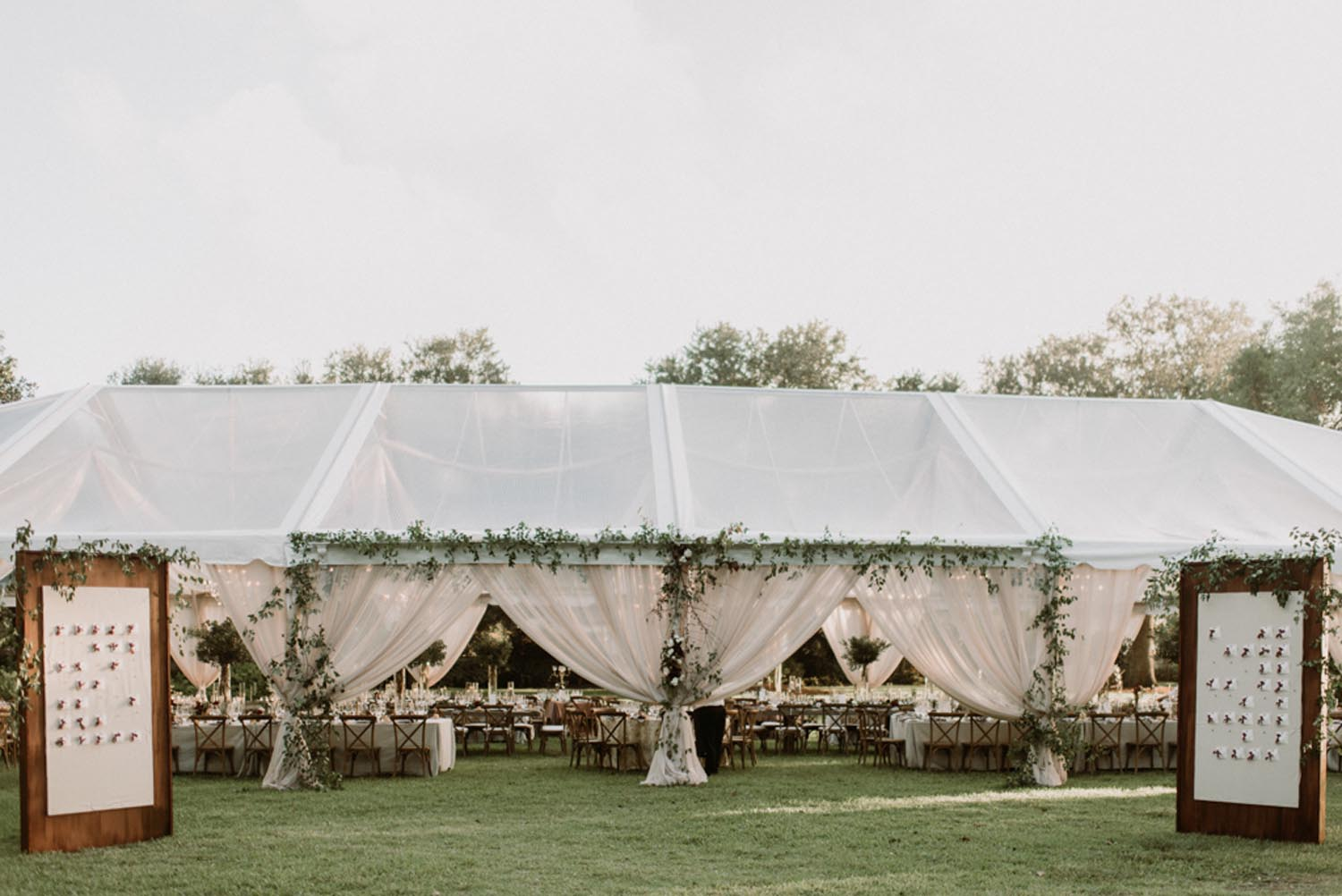 Lowndes Grove Plantation - Lavish Burgundy & Grey South Carolina Wedding