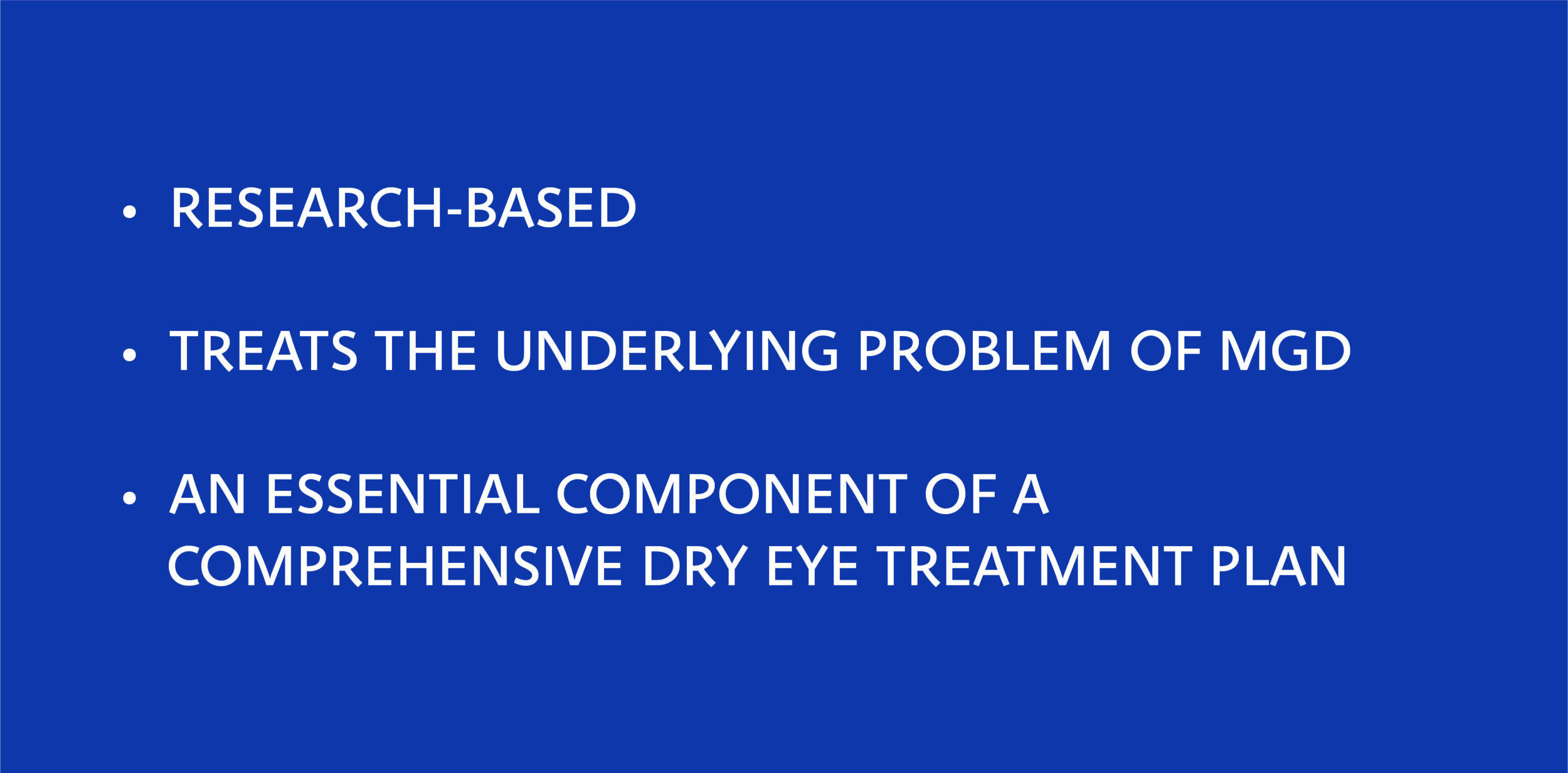 The Maskin Probing Protocol for Meibomian Gland Dysfunction (MGD) is a research-based procedure developed as advances to deeper understanding of Meibomian Gland structure and function progressed. Unlike many traditional modern therapies, the Maskin Probing Protocol treats the underlying problem of MGD, targeting scar tissue encircling and constricting Meibomian Gland ducts at various points along the gland. Meibomian Gland Probing (MGP) is an essential component of a comprehensive dry eye treatment plan.