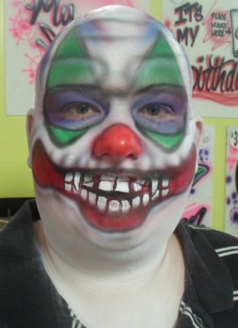 Scary Clown $20-$35