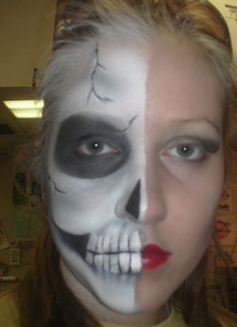 Half Skull $20-$25