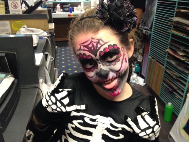 Kid Sugar Skull $20-$25