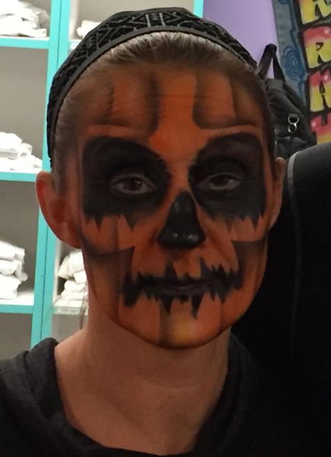 Pumpkin Skull $25-$30