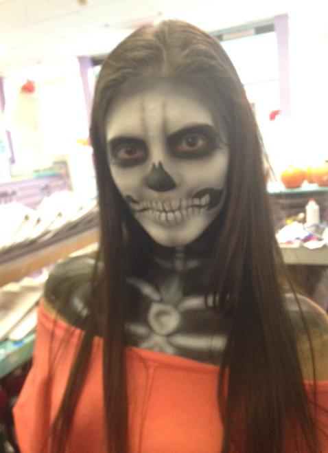 Full skull & shoulders $30-$35