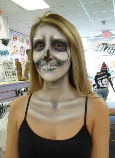 Simple skull & shoulders $30-$35