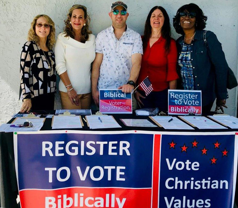 Biblical Voter Registration Kit - Everything you need to conduct a Biblcal Voter Registration Drive. This includes Christian Voter Tools, Election Checklists and Voter Registration.