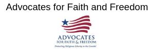 Advocates for Faith & Freedom