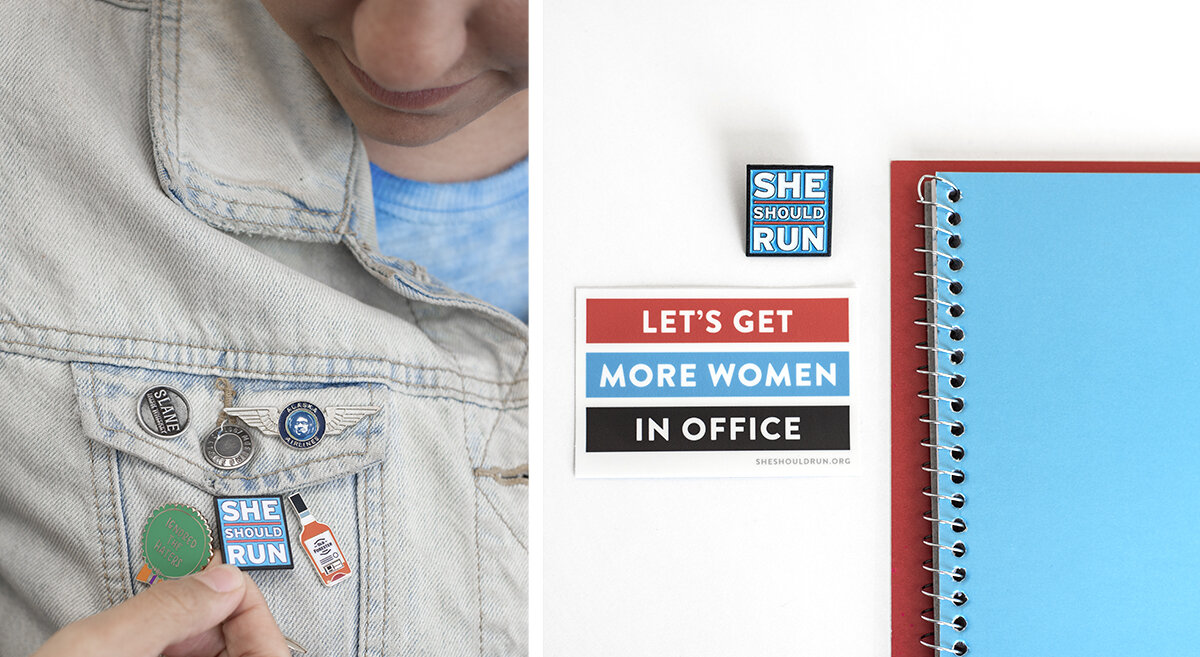 Event and branding photography for the She Should Run Austin Cohort.