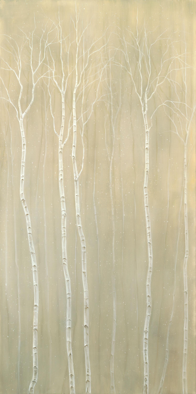 Snowy Birch Grove
