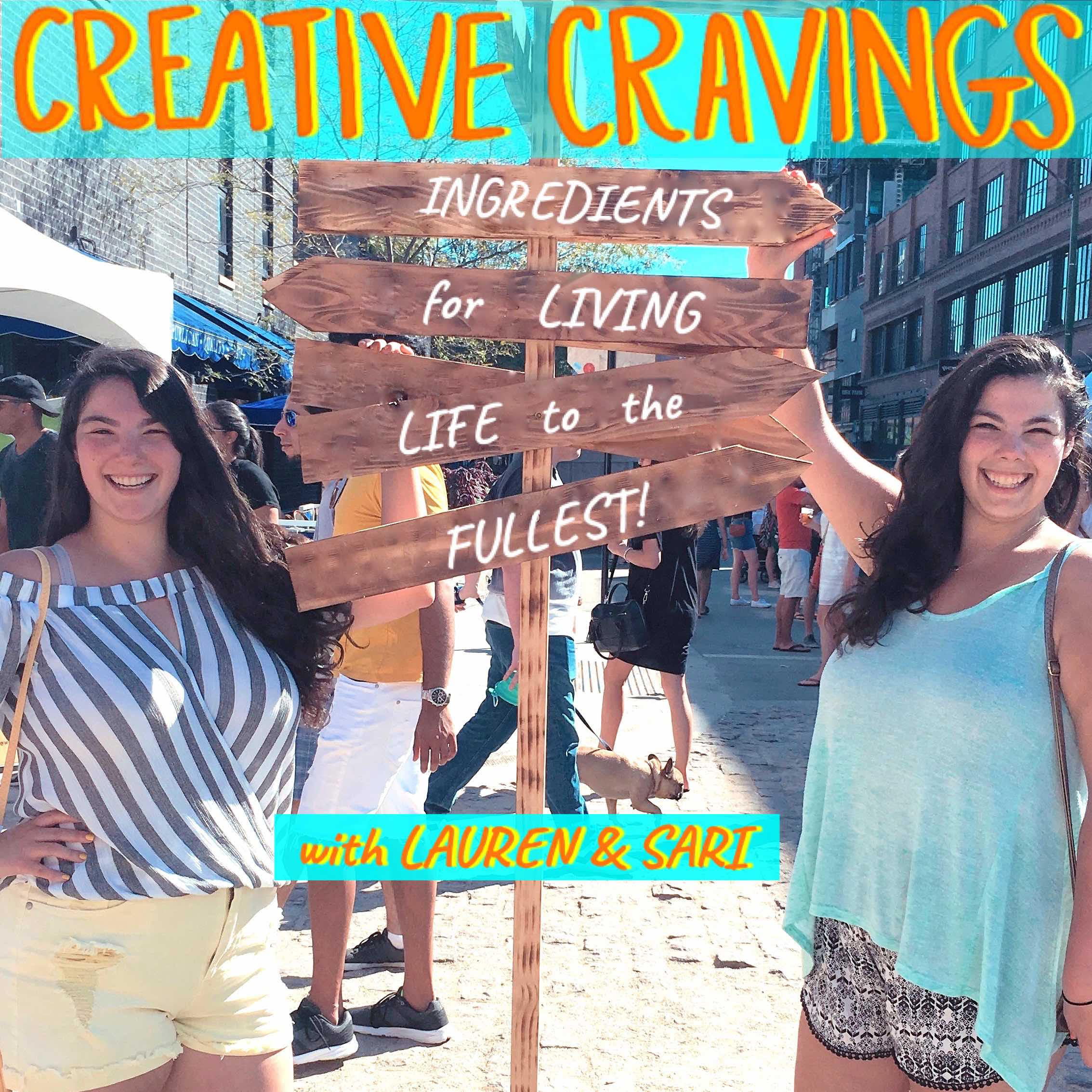 Trailer: Introducing Creative Cravings   Here's a taste of the show we created just for you. We're launching on our 27th birthdays!   2.7.2019